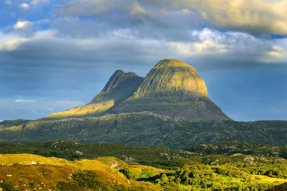 Suilven is one of the finest natural wonders in the UK
