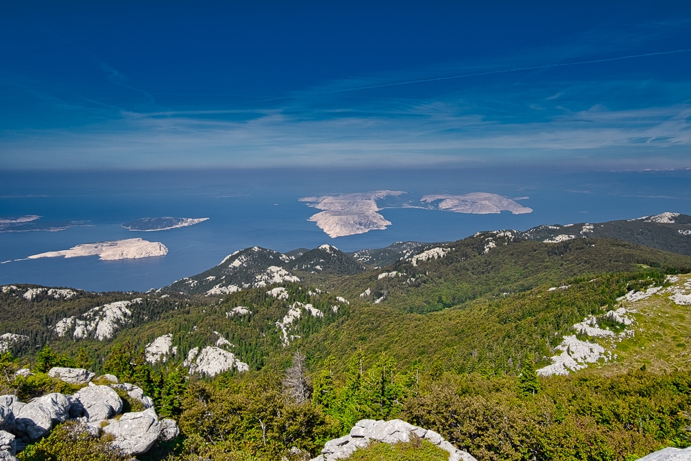 The Adriatic Sea during the Highlander Velebit