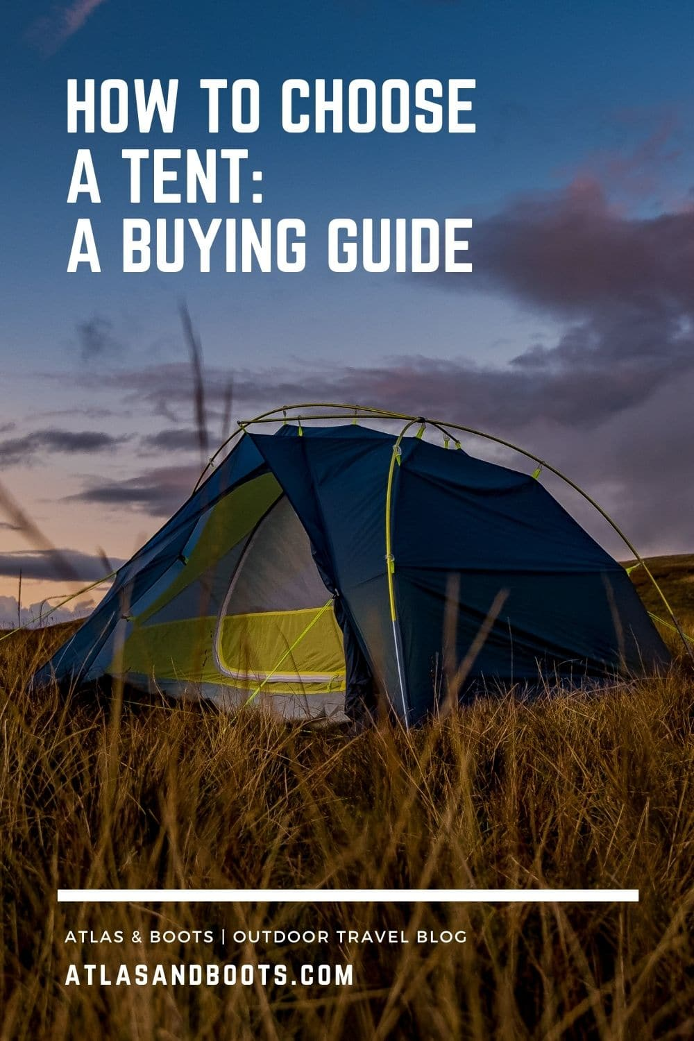 How to choose a tent pinterest post