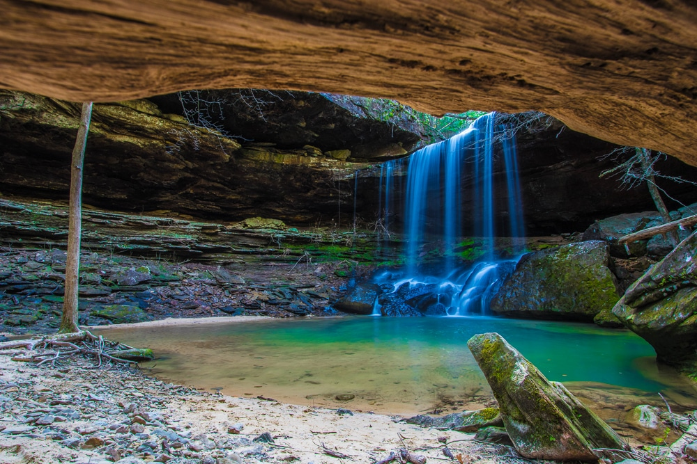 Sougahoagdee Falls in Bankhead National Forest  is one of the best hiking trails in every US state