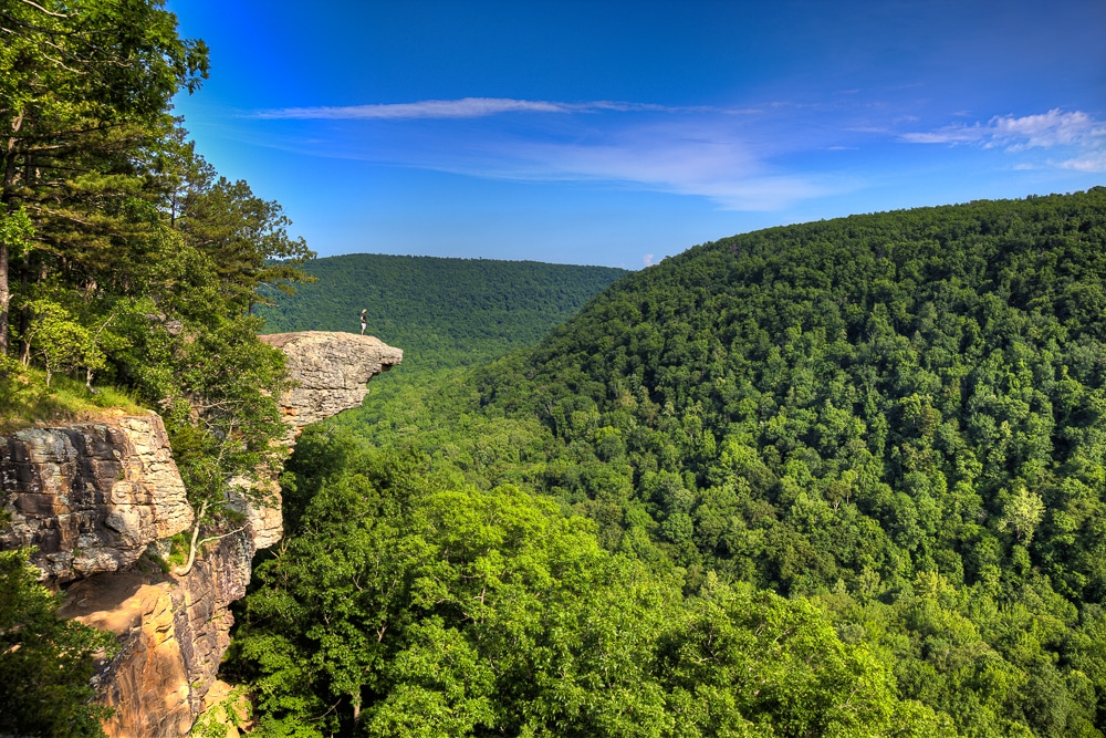 Hawksbill Crag is one of the best hiking trails in every US state