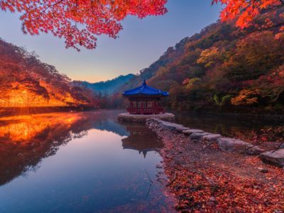 Naejangsan in autumn is one of the best hikes in South Korea Naejangsan