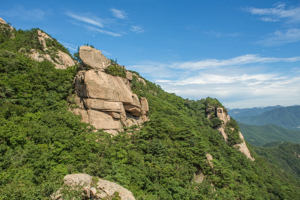 songnisan is one of the best hikes in south korea