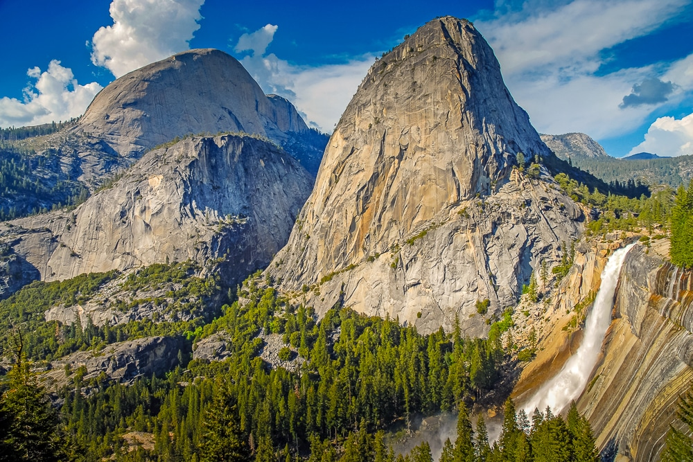 Liberty Cap and Nevada Falls – one of the best hiking trails in every US state