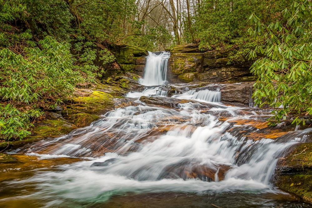 Raven Cliffs Falls –  one of the best hiking trails in every US state