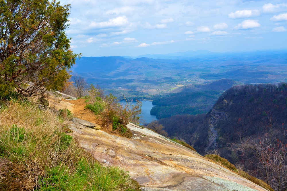 The view from Table Rock in South Carolina is one of the best hiking trails in every US state