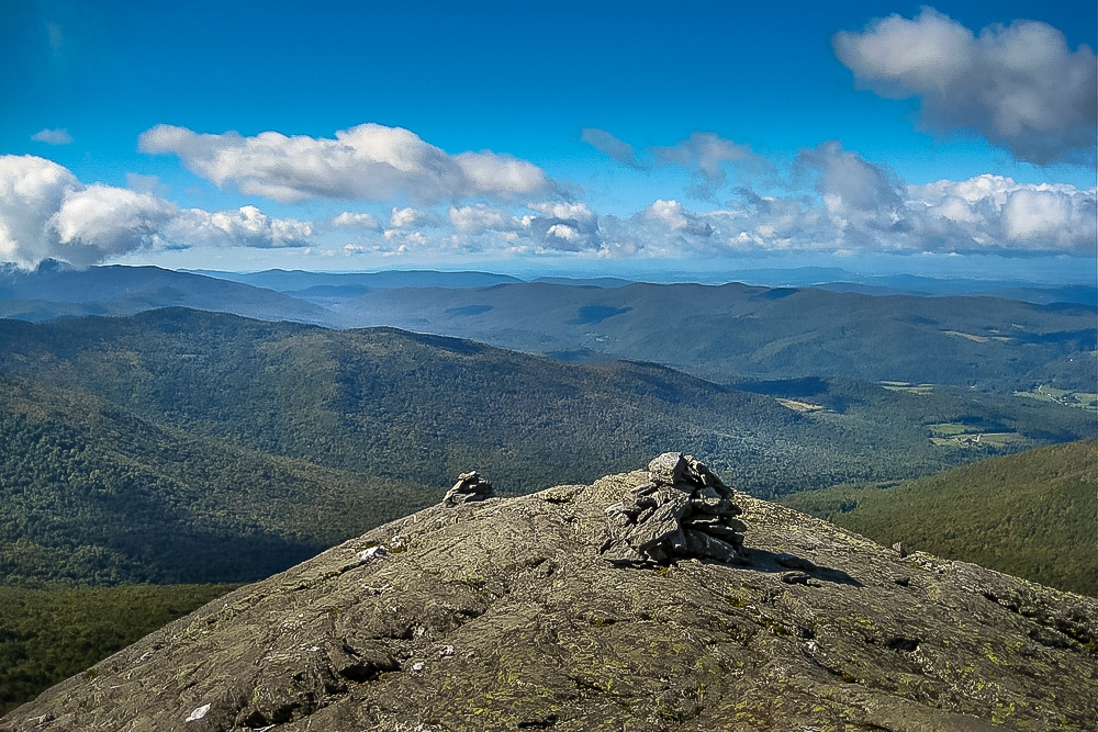The Camel's Hump in Vermont is one of the best hiking trails in every US state