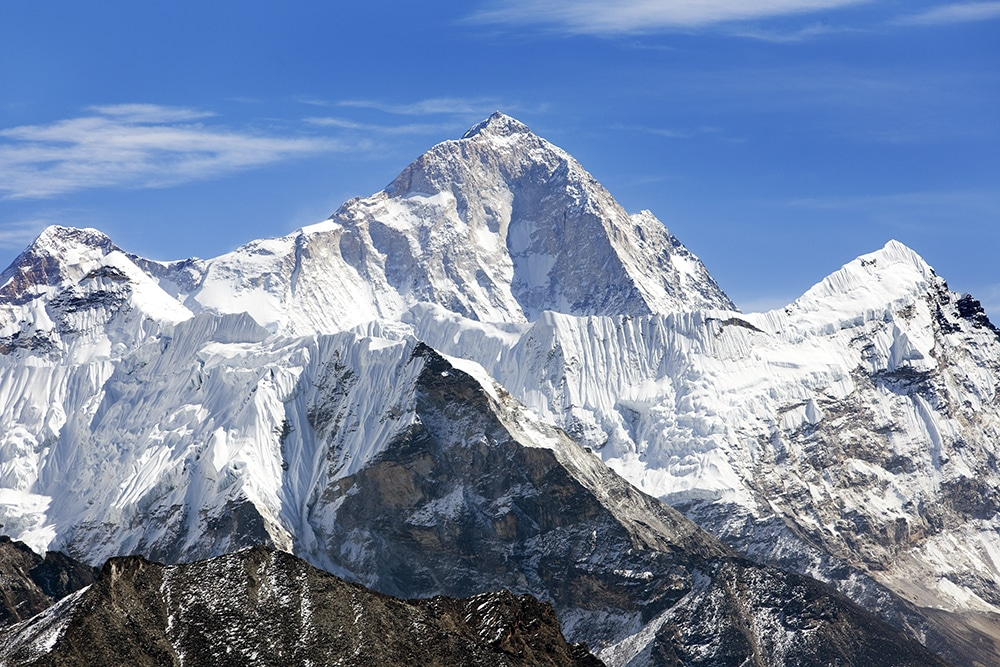 Mount Makalu can be seen on one of the best unknown treks in Asia