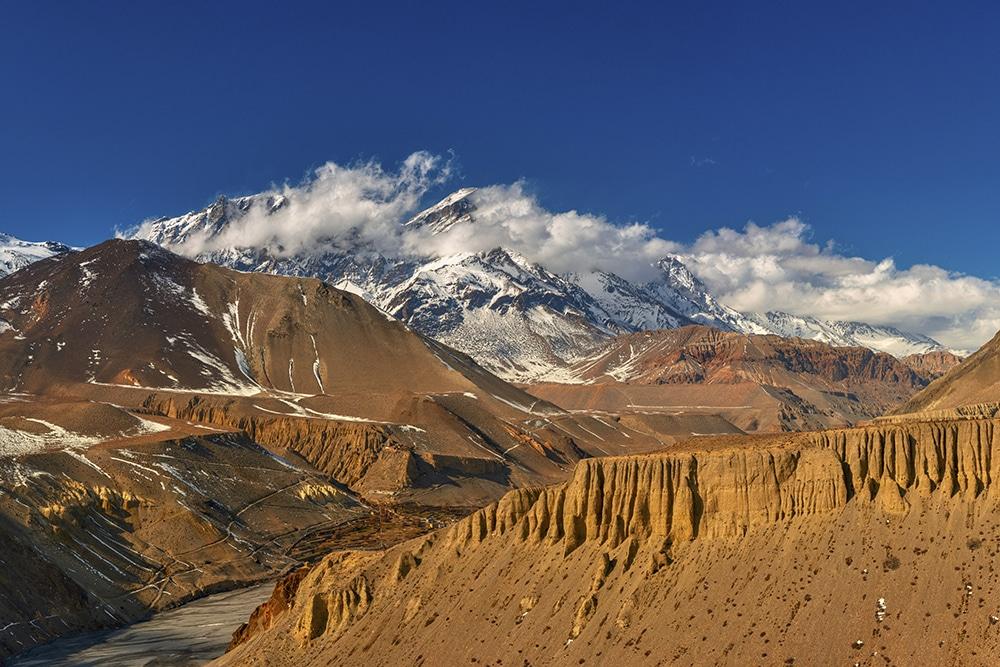 Upper Mustang in Nepal