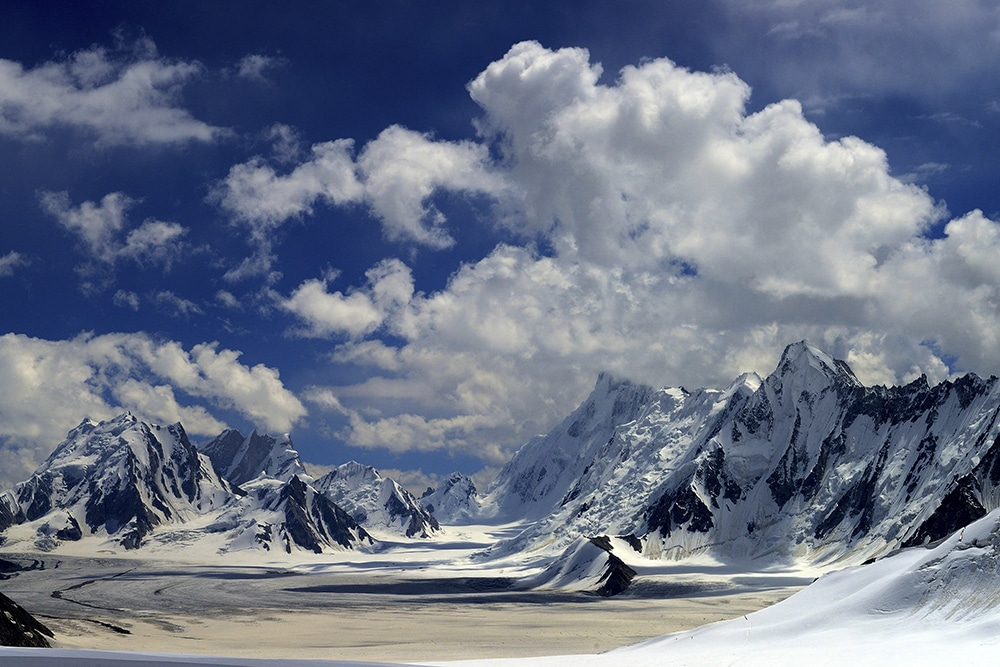 Snow Lake in the Karakoram, Pakistan