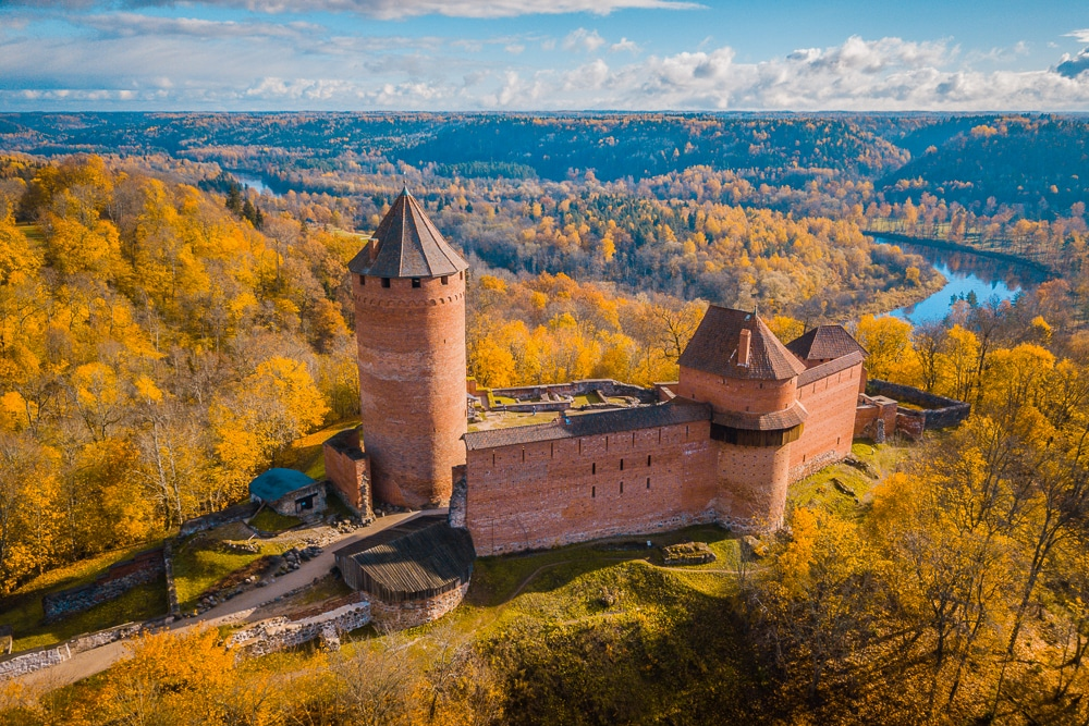 The fairy tale town of Sigulda