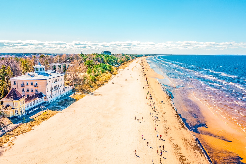 The Jūrmala coast