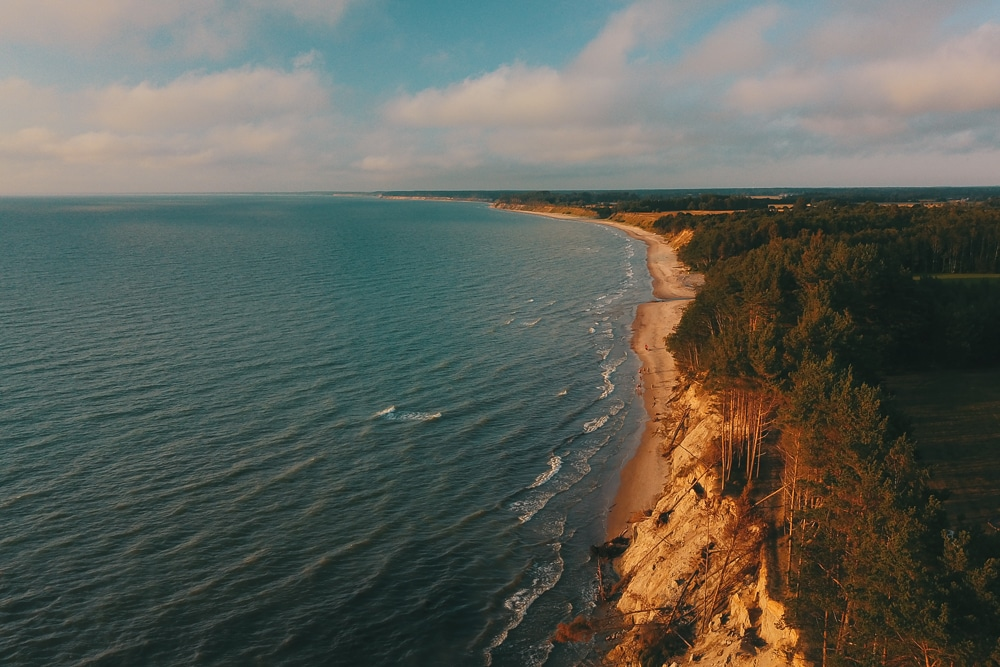 The Kolka peninsula is one the best places to go hiking in Latvia