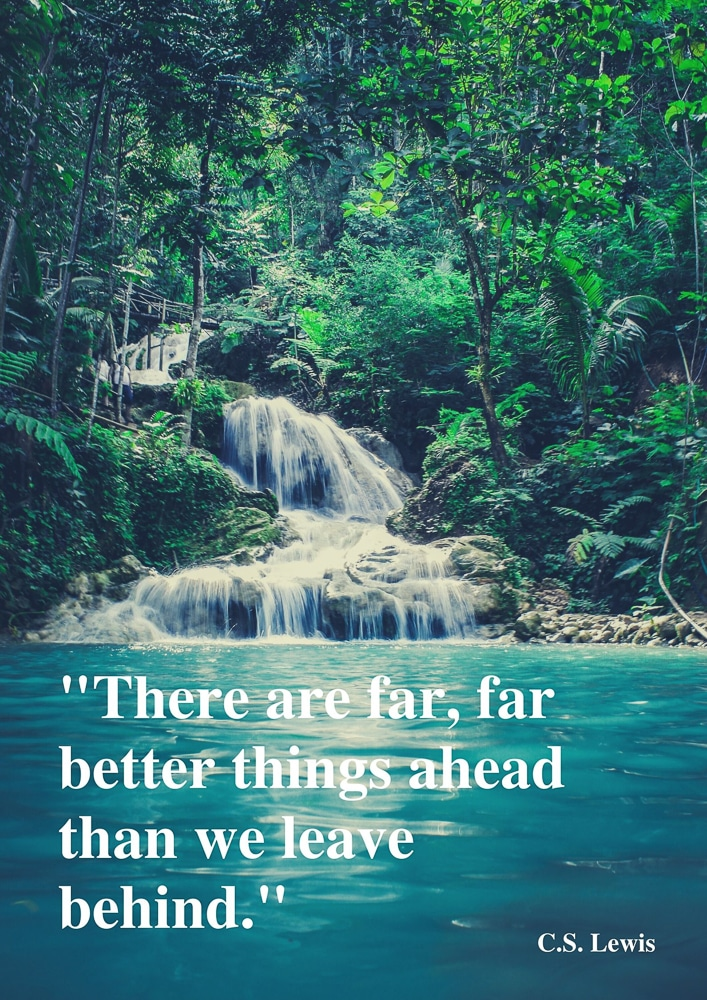 There are better things ahead...