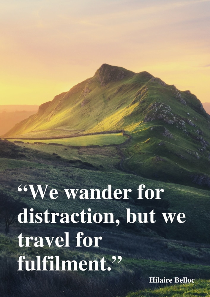 Travel for fulfilment quote