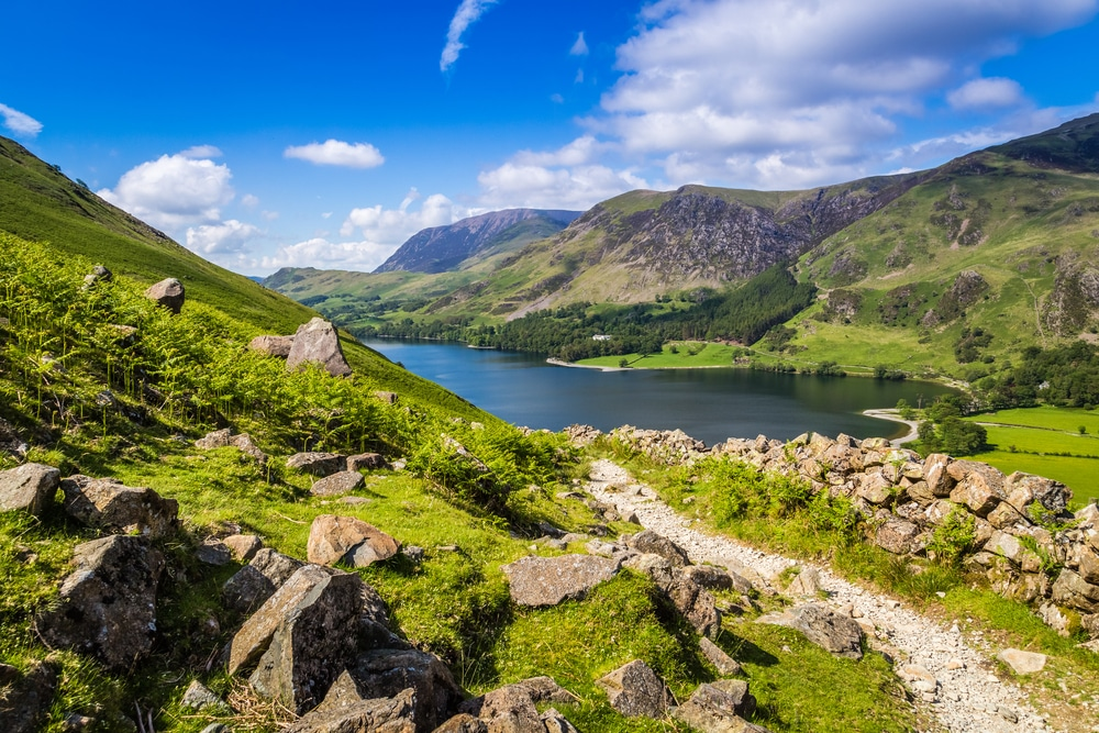 Buttermere Circuit is one of the most popular hiking trails in England