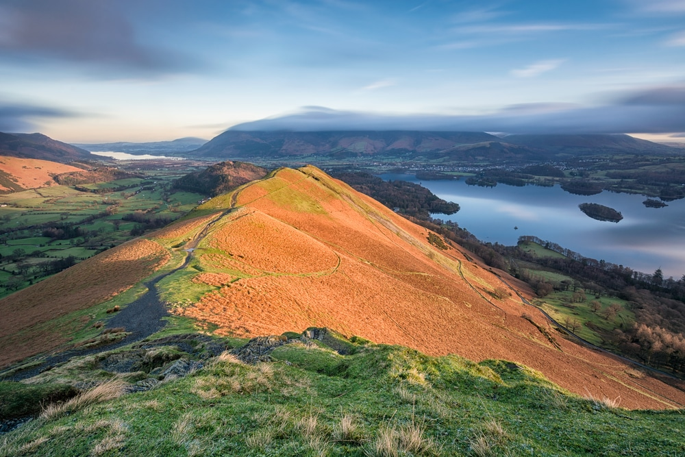 Cat Bells is one of England's most popular hiking trails