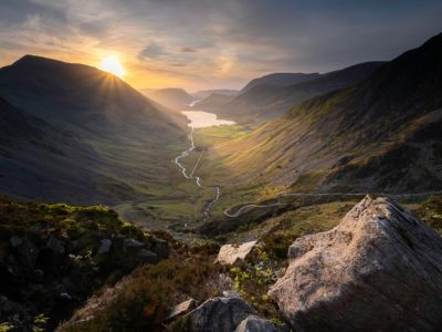 Buttermere Fell is home to some of the most popular hiking trails in England
