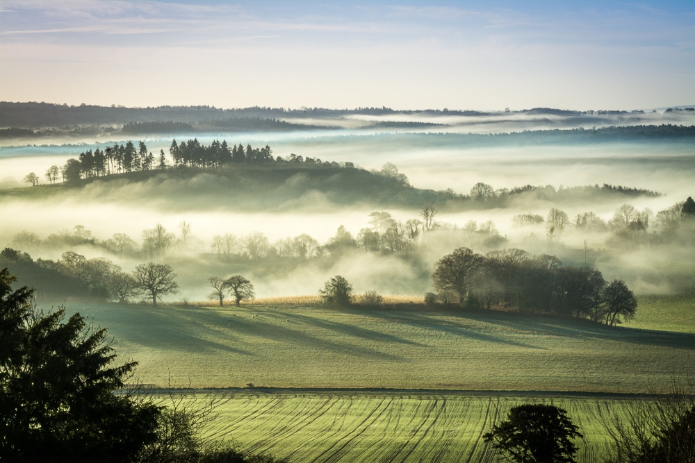 The Surrey Hills are home to some of the most popular hiking trails in England