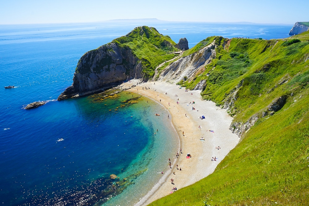 Lulworth is one of England's most popular hiking trails