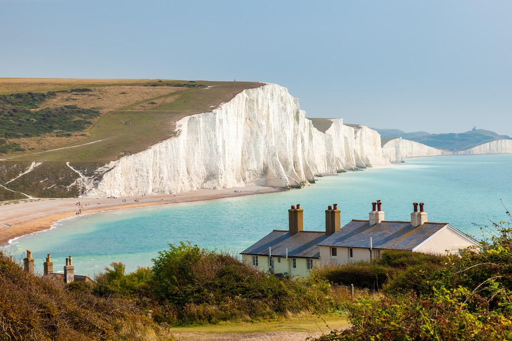 seven sisters is one of the 100 most popular hiking trails in England