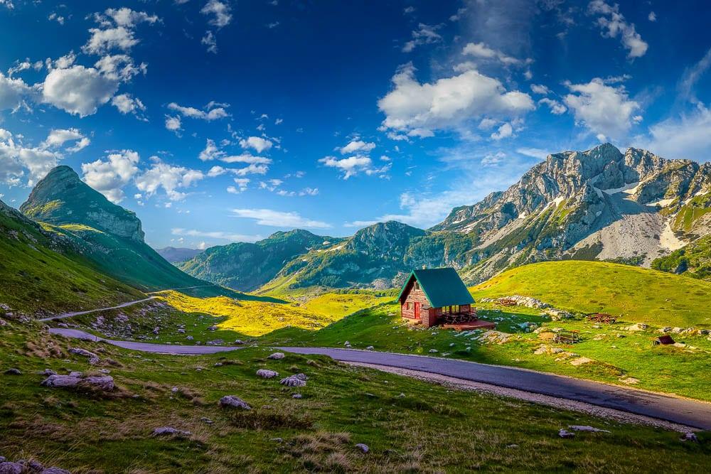 Durmitor National Park is one of the Highlander Adventure treks