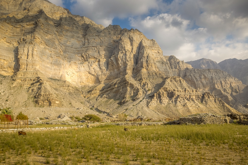 The Al-Hajar Mountains of UAE will feature in one of the new Highlander Adventure treks
