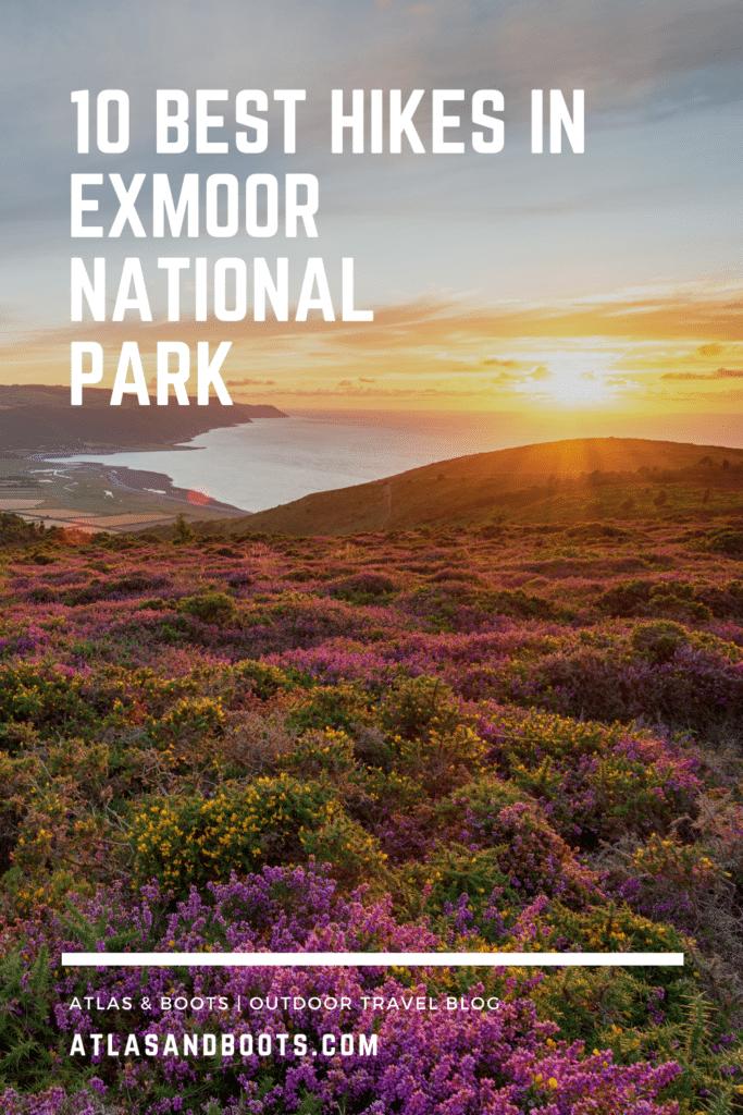 best hikes in Exmoor National Park Pinterest