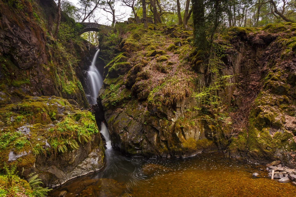 Aira Force is one of the best hikes in the Lake District