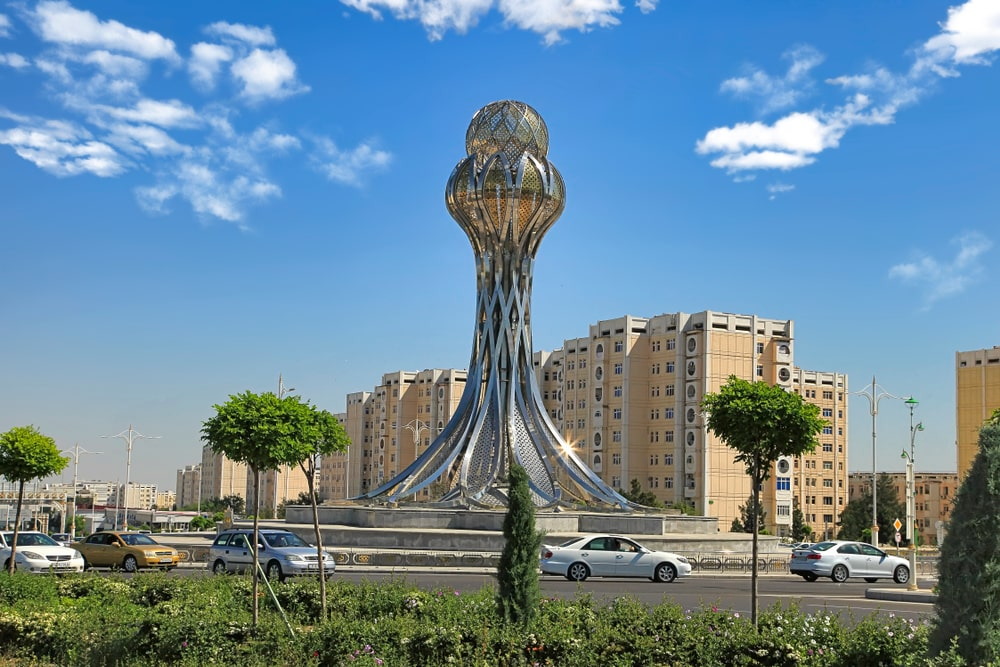 Ashgabat is the most expensive cities for expats