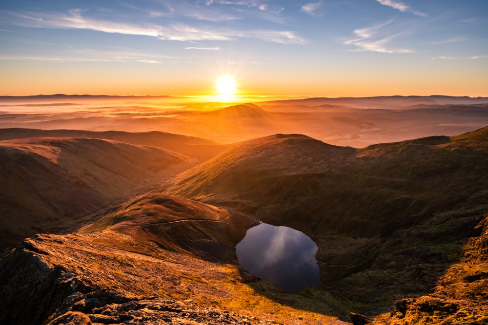 Blencathra is one of the best hikes in the Lake District