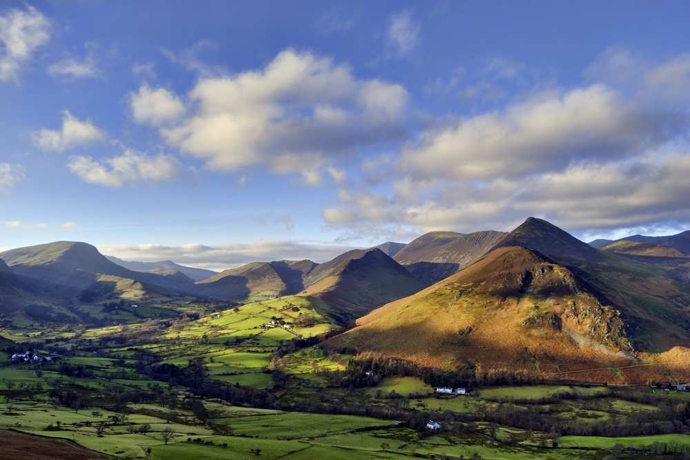 Causey Pike from Catbells- best hikes in the Lake District