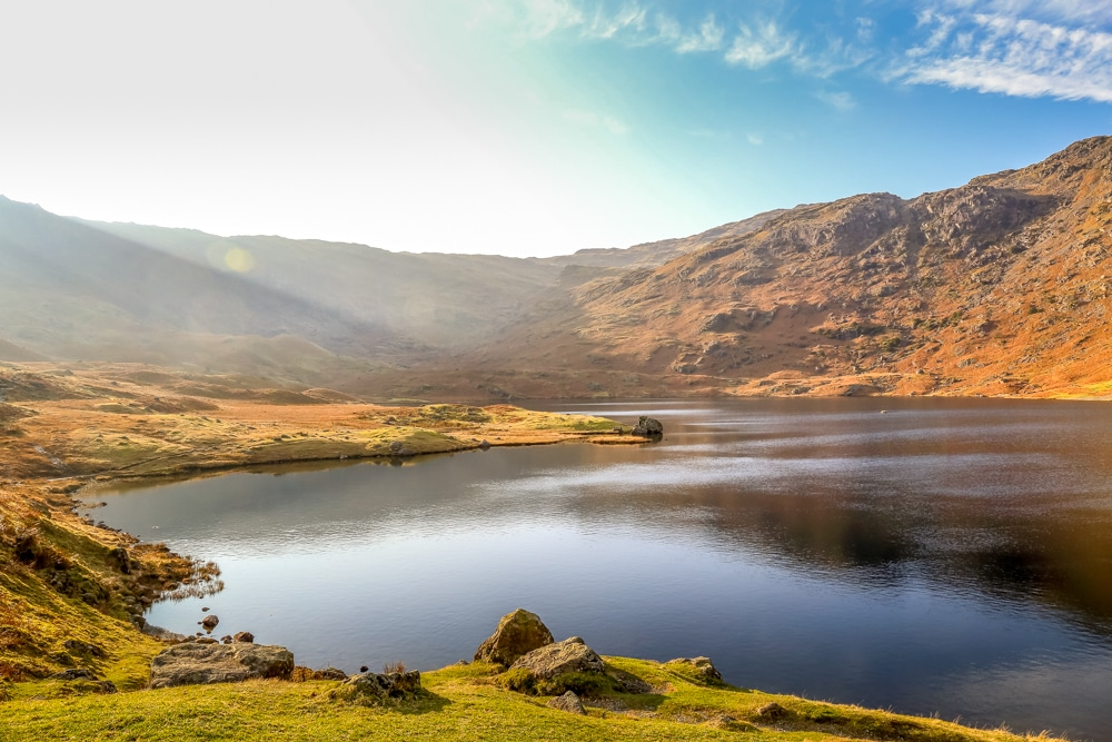 Easedale Tarn is one of the best hikes in the Lake District