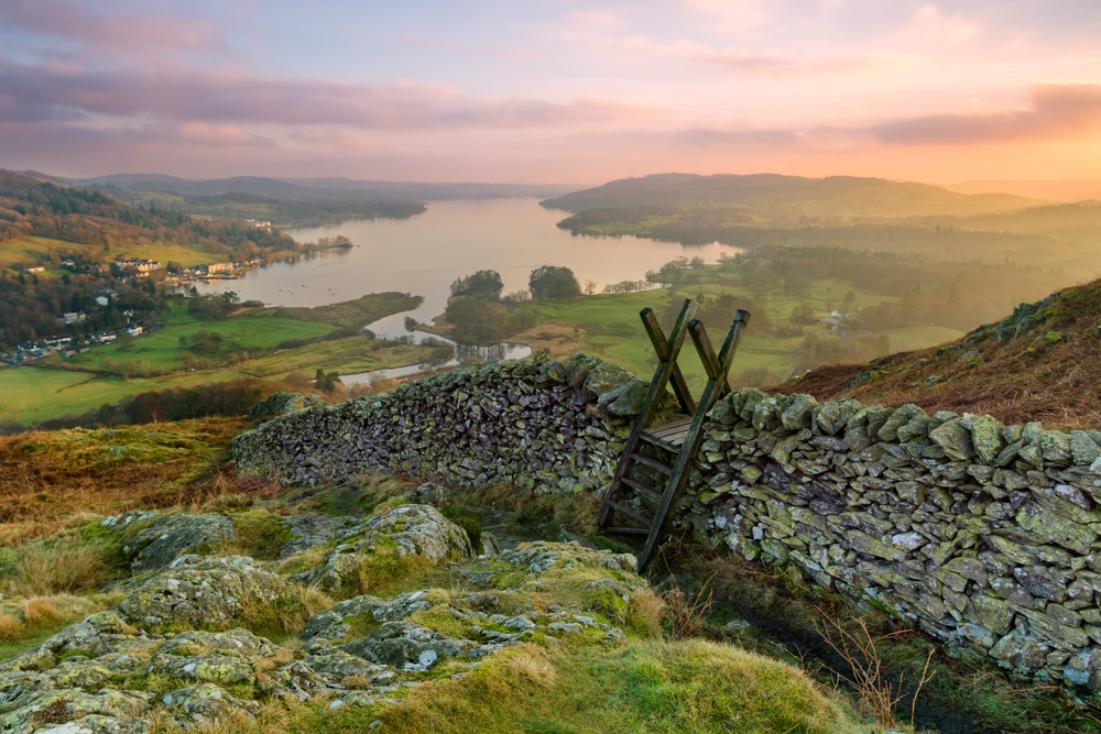 best hikes in the Lake District National Park lead Windermere