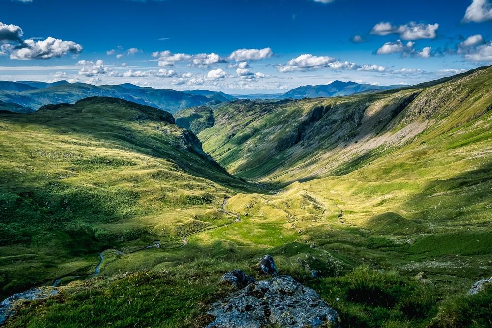 The Lake District along the Coast to Coast Walk