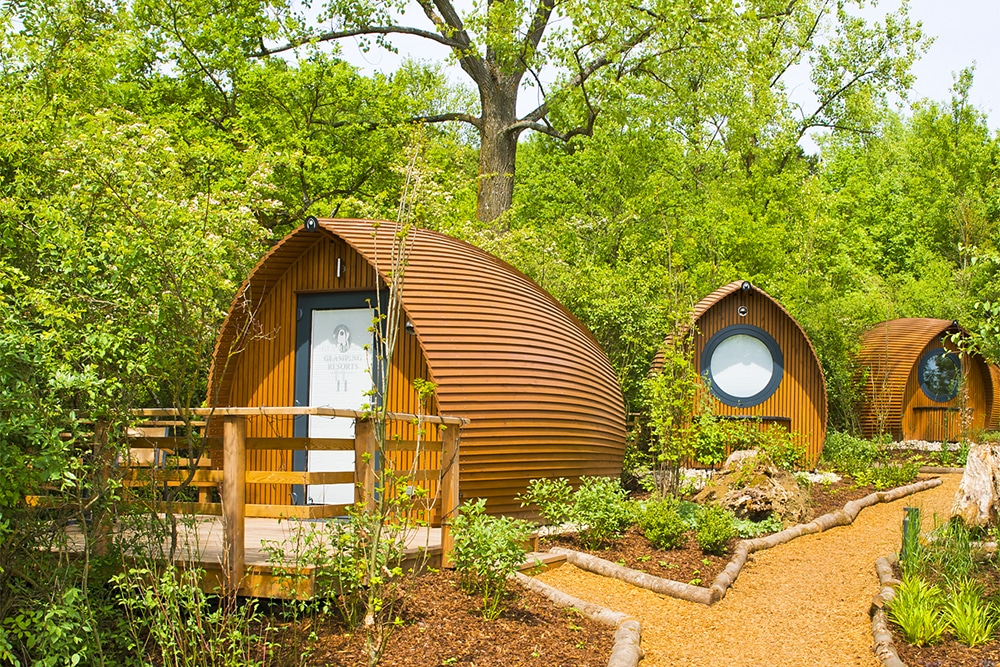 Real-life hobbit houses on a UNESCO Biosphere Reserve