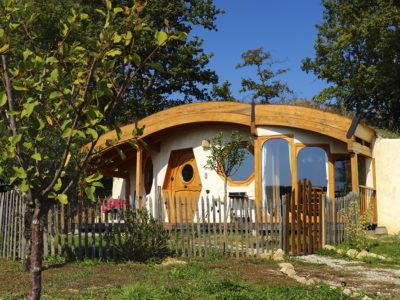 One of our favourite real-life hobbit houses